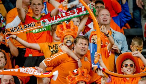 De Randstad domineert in Oranje