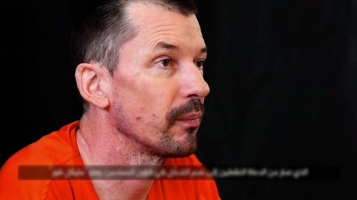 John Cantlie in een video van IS | FOTO: EPA.