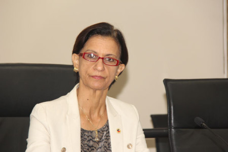Prime Minister/President of Parliament Sarah Wescot Williams. (File Photo)