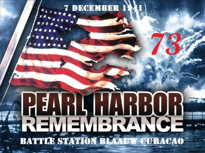 Pearl Harbor 73rd anniversary-POSTERBLUE BAY