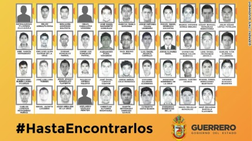Photos: Missing Mexican students