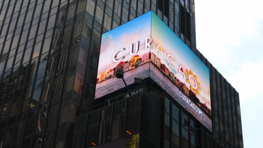 Curacao at Times Quare New York