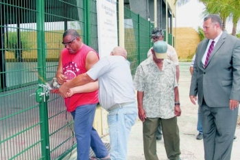 Chaos in Curaçaose sport