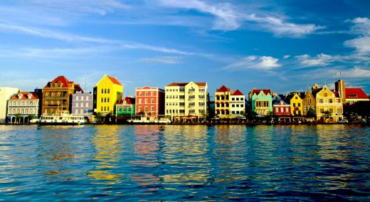 The Dutch heritage is visible in Curacao's colourful capital Willemstad