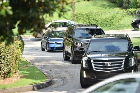 Bobbi Kristina Brown Wake | Foto AFP
