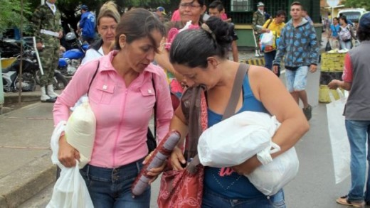 Saturday provided a rare opportunity to stock up on food, medicine and basic staples