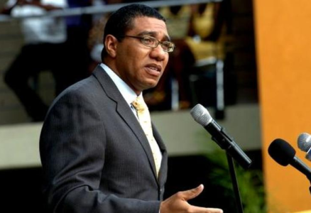 Prime Minister of Jamaica Andrew Holness relating to the Caribbean correspondent banking issues