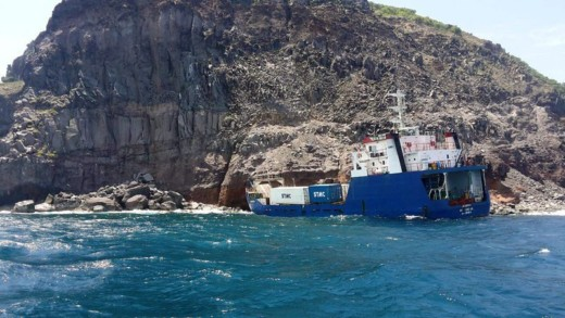 Stranded ship sealed off, no coral reefs damaged | Daily Herald