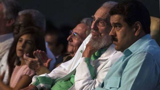 Maduro's costly serenade for Castro's birthday