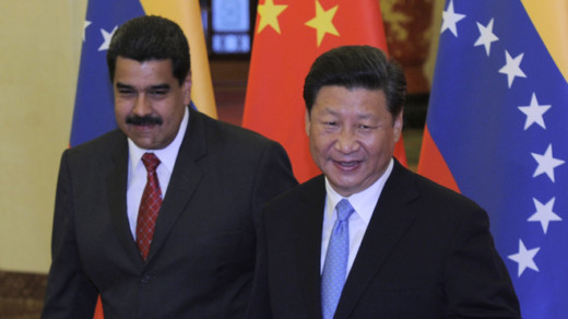 Venezuela can't pluck leaves off China's money tree anymore   (Photo by Parker Song-Pool/Getty Images