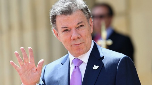 Colombian President Juan Manuel Santos said in a speech Thursday at the United Nations