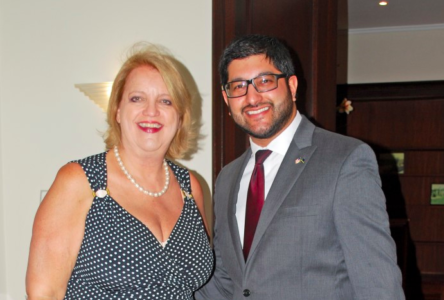 U.S. Consul General Hawthorne hosts welcome reception at Roosevelt House