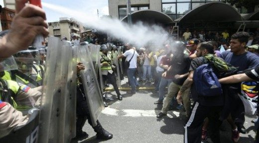 Foto 1: Protest in Caracas | ANP