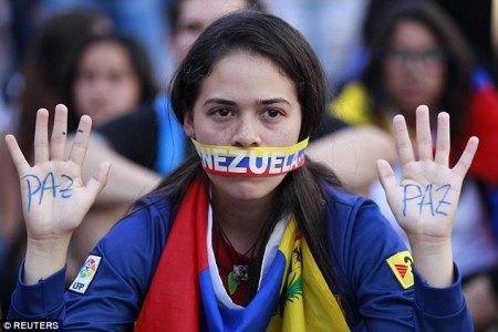 The opposition coalition is trying to oust Maduro via street protests or a referendum to end his six-year term Read more: http://www.dailymail.co.uk/news/article-3543624/First-no-toilet-paper-no-phones-TV-Cash-strapped-Venezuela-faces-shortages-day-day-basics-global-drop-oil-prices-makes-dollars-scarce.html#ixzz463Kd0eTU Follow us: @MailOnline on Twitter | DailyMail on Facebook