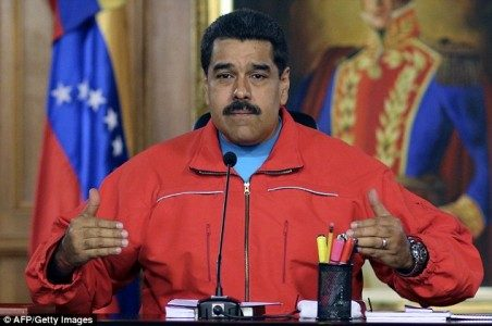 Venezuelan president Nicolas Maduro (pictured) owes private telecoms and cable firms $700million | Getty